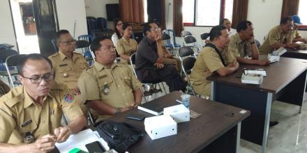 Rapat Rutin Pemerintahan Desa Di Kecamatan